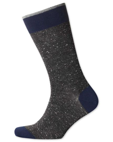 Socken aus Donegal in grau