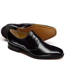 Soho Derby Schuh in Schwarz