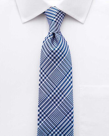 Slim fit non-iron short sleeve white shirt
