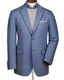 Sky classic fit Oxford unstructured jacket