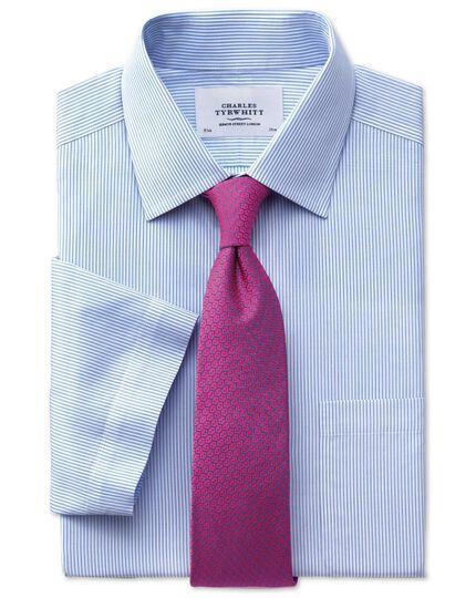 Pink silk wire lattice classic tie