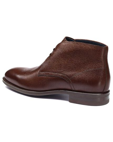 Brown Pembridge chukka boots