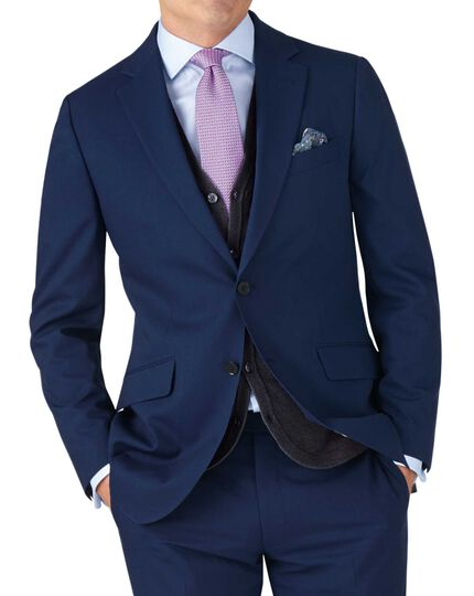 Royal slim fit lightweight business suit jacket