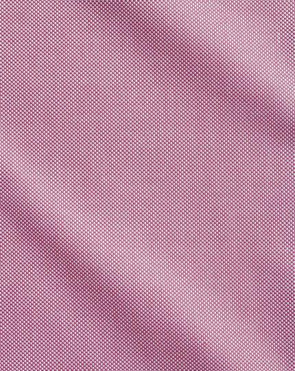 Extra slim fit Egyptian cotton royal Oxford magenta shirt