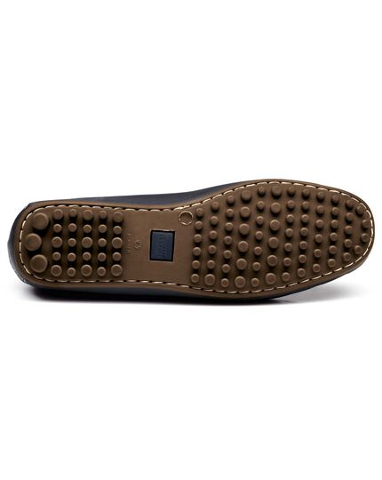 Navy Langford driving shoes