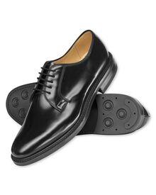 Black Alnwick Derby shoes
