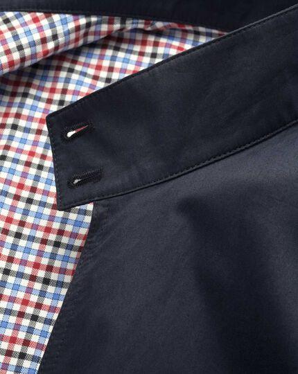 Navy Made in England Harrington jacket