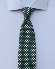 Slim fit semi-spread collar stretch sky shirt