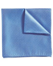 Sky classic arrow semi plain pocket square
