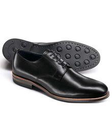 Black Rivington Derby shoes