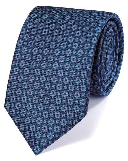 Indigo silk indigo classic tie