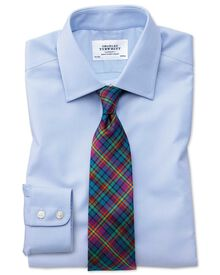 Slim fit Egyptian cotton royal Oxford Sky blue shirt