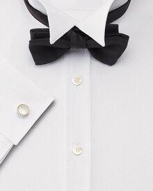 Classic fit wing collar marcella bib front tuxedo shirt