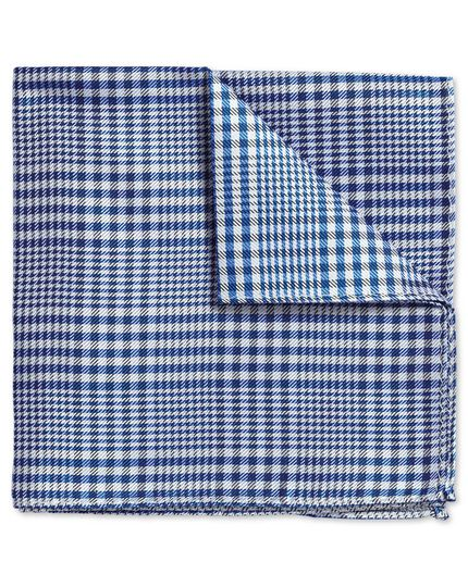 Royal Prince of Wales check classic pocket square
