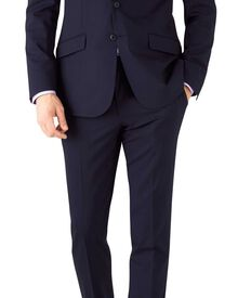 Costume haute technologie bleu marine slim fit