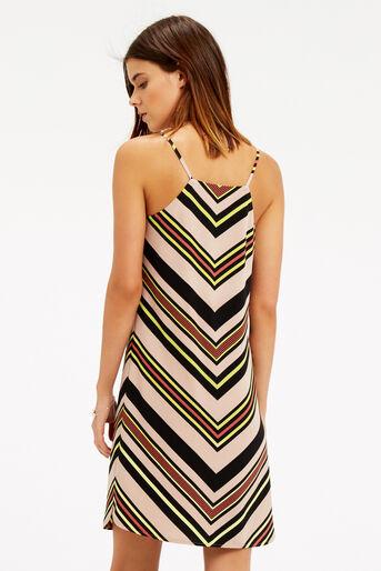 Oasis, Chevron Stripe Cami Dress Multi 3