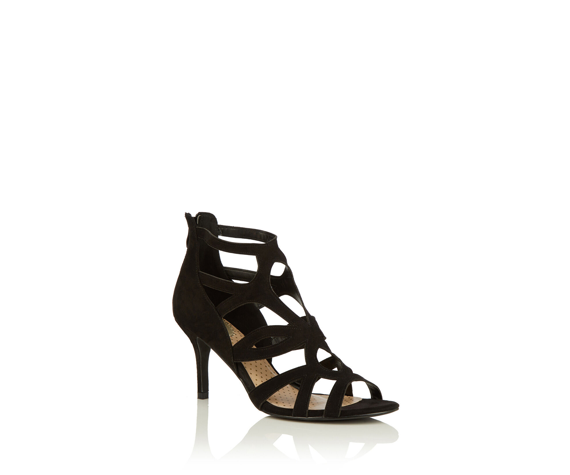 Oasis, Caged Sandal Black 0