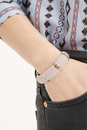 Oasis, Pastel Stretch Bracelet Cream 1