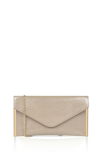 Oasis, PATENT ENVELOPE CLUTCH Mid Neutral 0