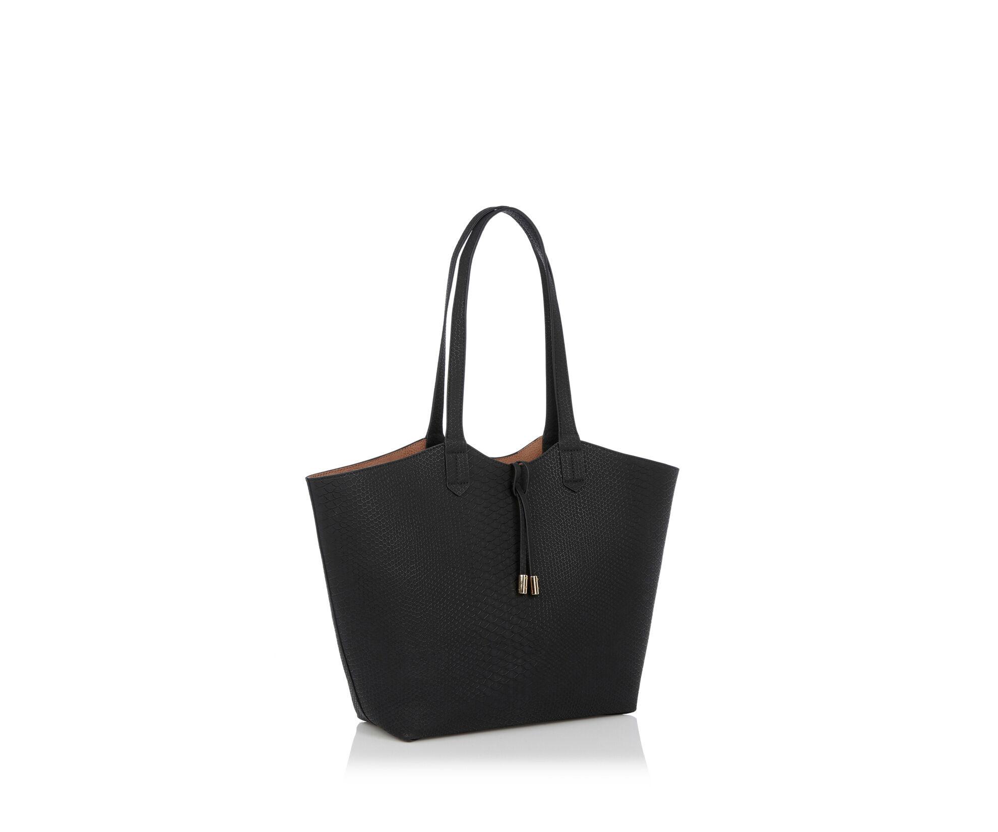 Oasis, Ruby Reversible Shopper Multi Black 1