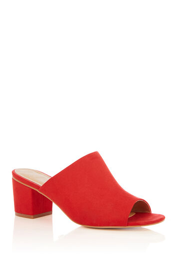 Oasis, MANDY MULE Mid Red 0