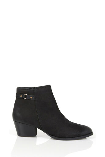 Oasis, SALLY STRAP ANKLE BOOT Black 0