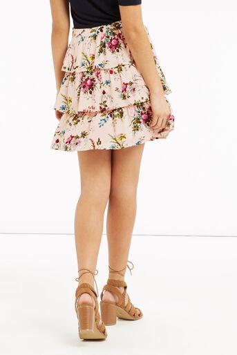 Oasis, Chintz Rosanna Rara Skirt Multi Natural 3