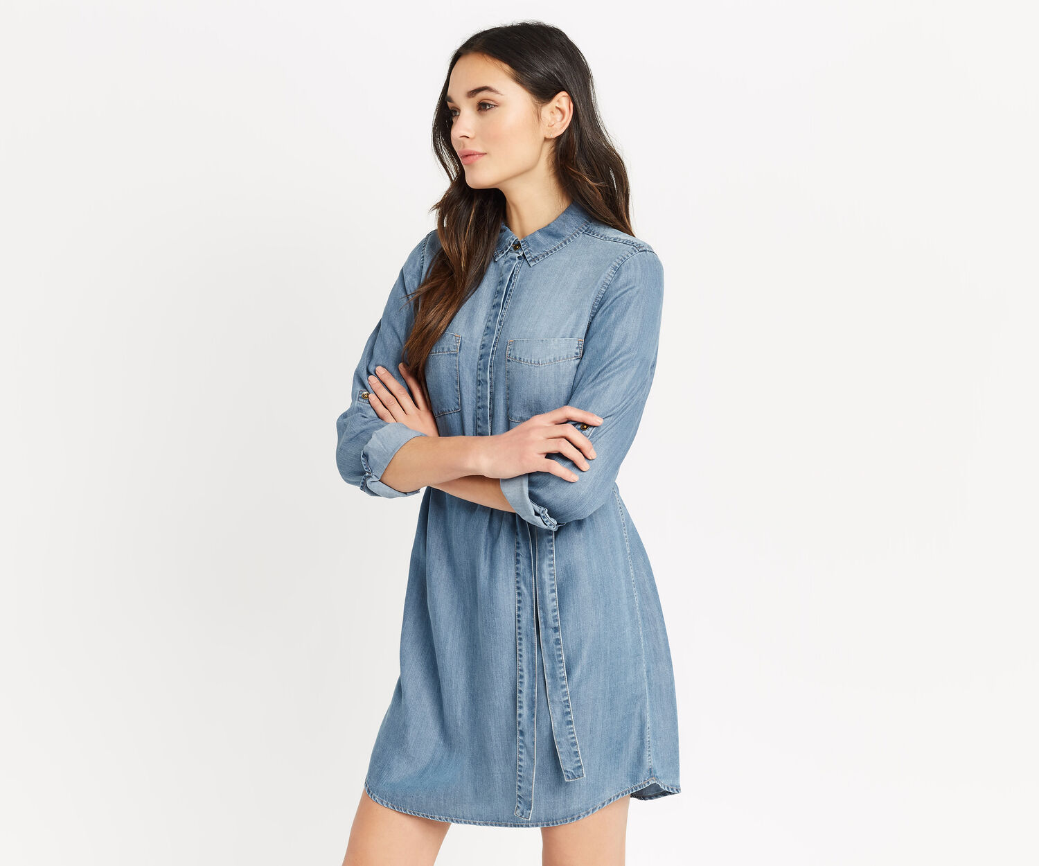Oasis, LIBBY SHIRT DRESS Denim 1