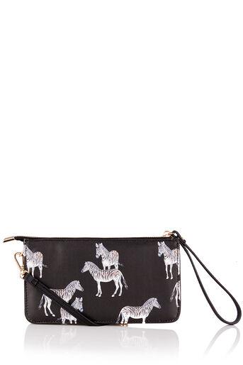Oasis, Mini sac à bandoulière imprimé ZSL Noir multicolore 0