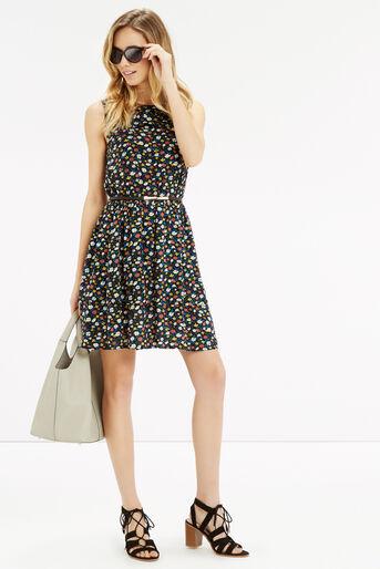 Oasis, Ditsy Ruffle Tiered Dress Multi 2
