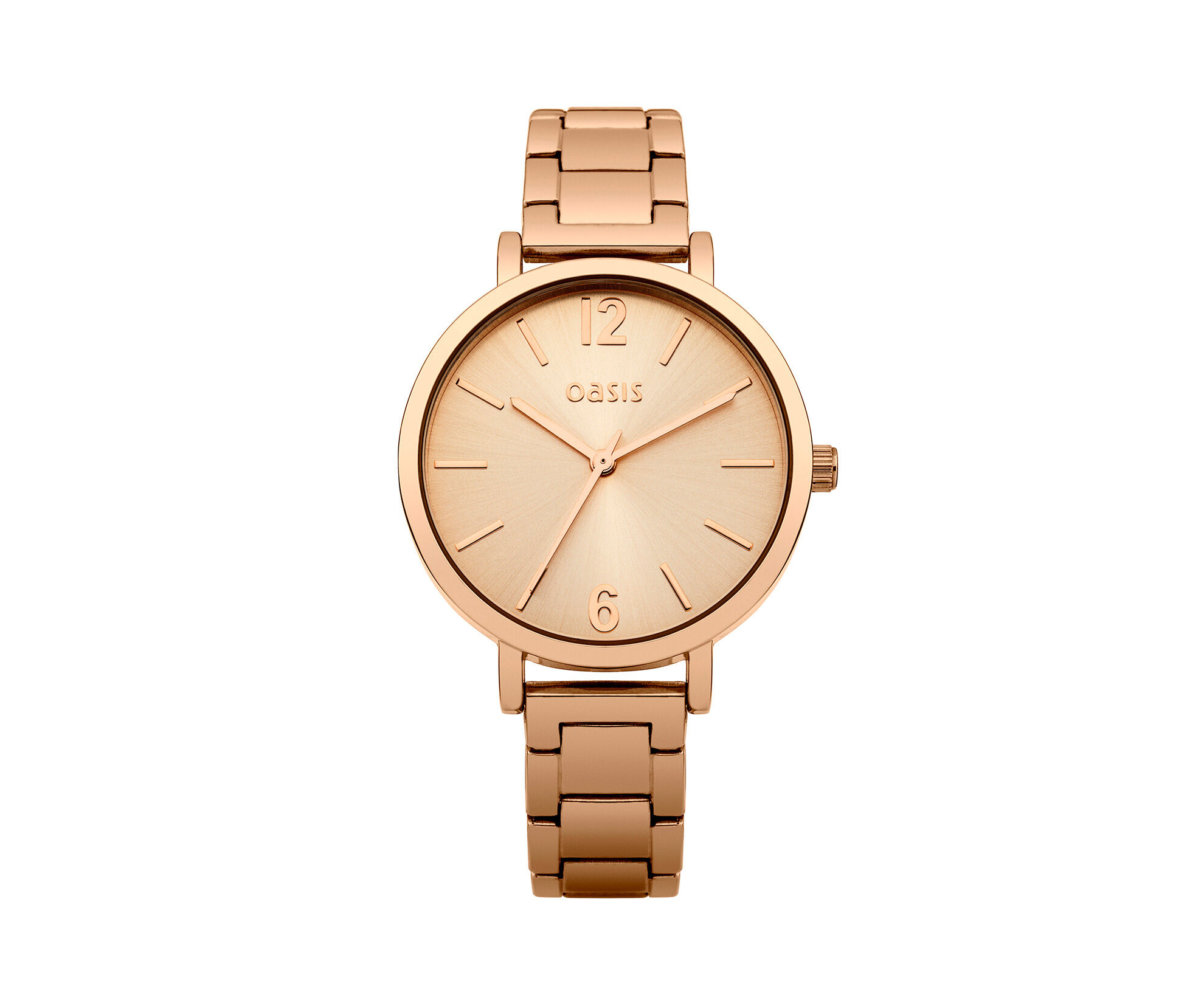 Oasis, Rose Gold Dial Watch Antique Gold 0