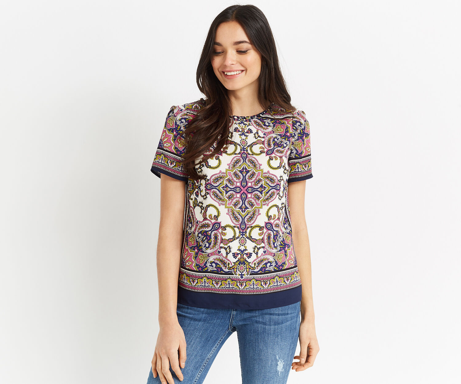 Oasis, SCARF T-SHIRT Multi 1