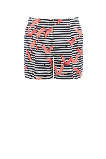 Oasis, FLAMINGO STRIPE SHORT Multi 0