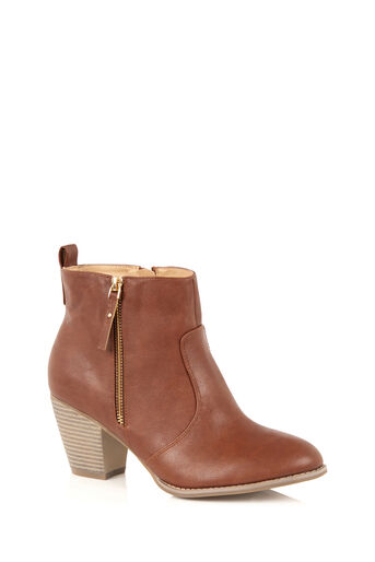 Oasis, ABIGAIL ANKLE BOOT Tan 2