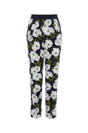 Oasis, WILD FLORAL TROUSER Multi 0