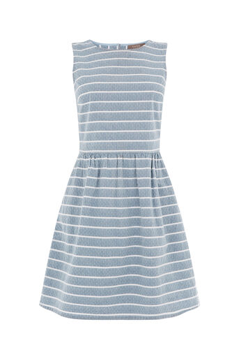 Oasis, STRIPE DOBBY SKATER DRESS Multi 0