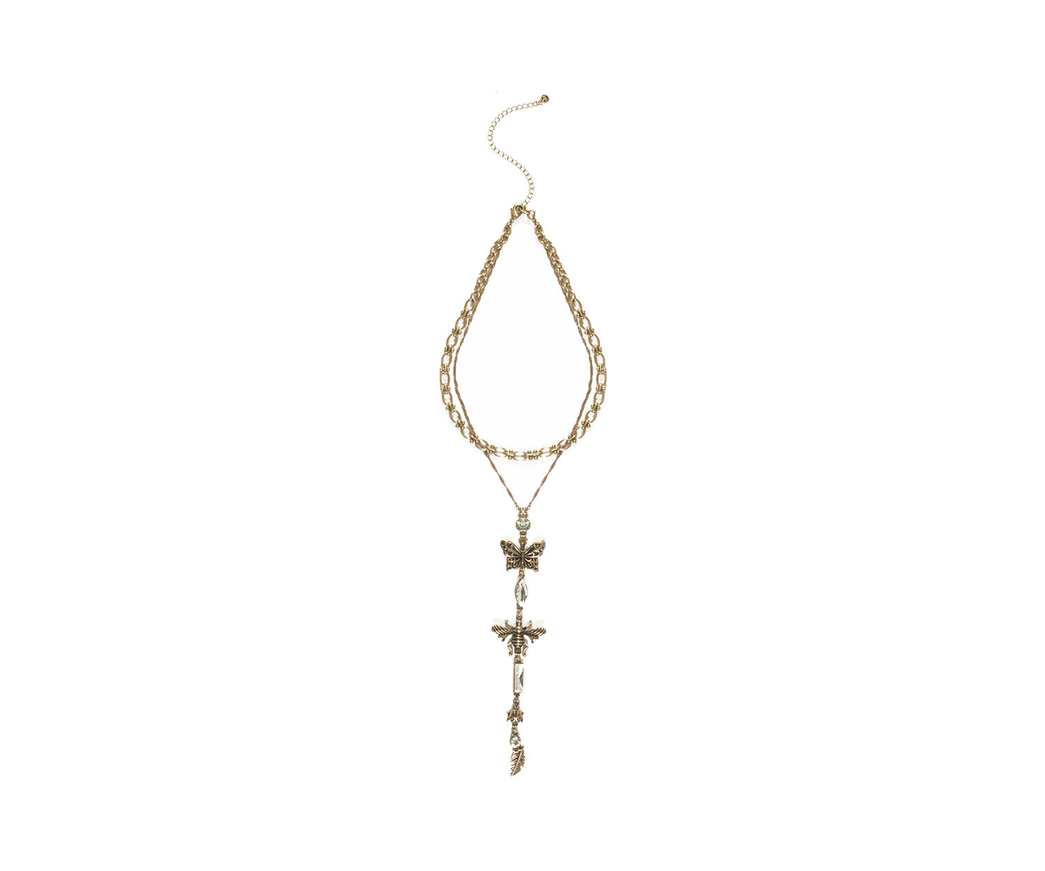 Oasis, BUG CHARM NECKLACE Gold 1