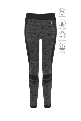 Oasis, SEAMLESS LEGGING Black and White 0