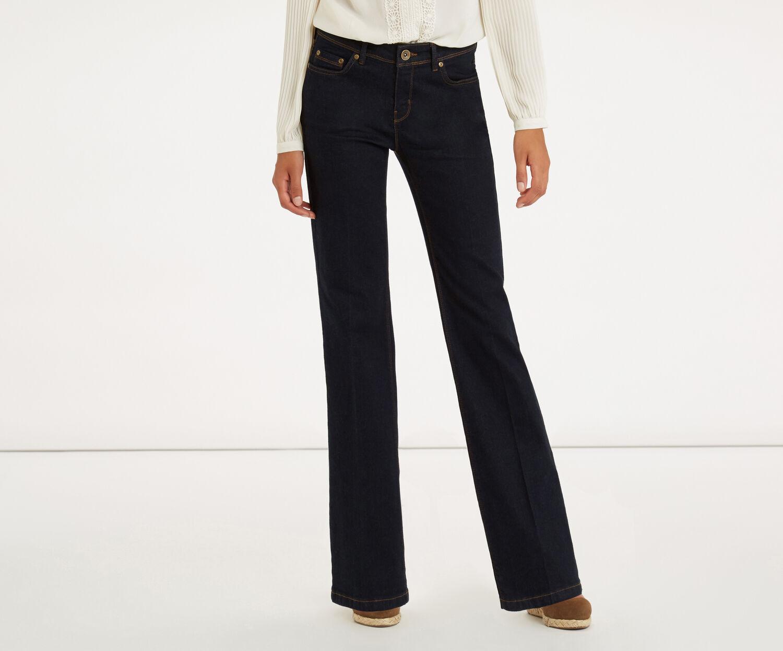 Oasis, Scarlet Bootcut Jeans Dark Wash 1