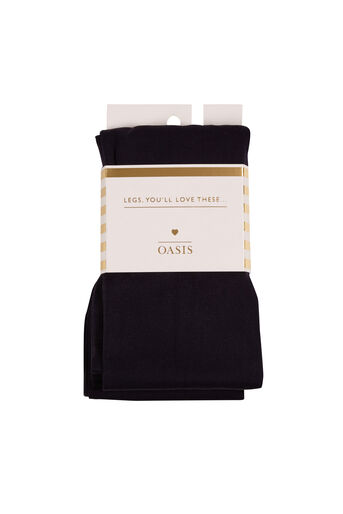 Oasis, 120 Denier Tights Navy 0