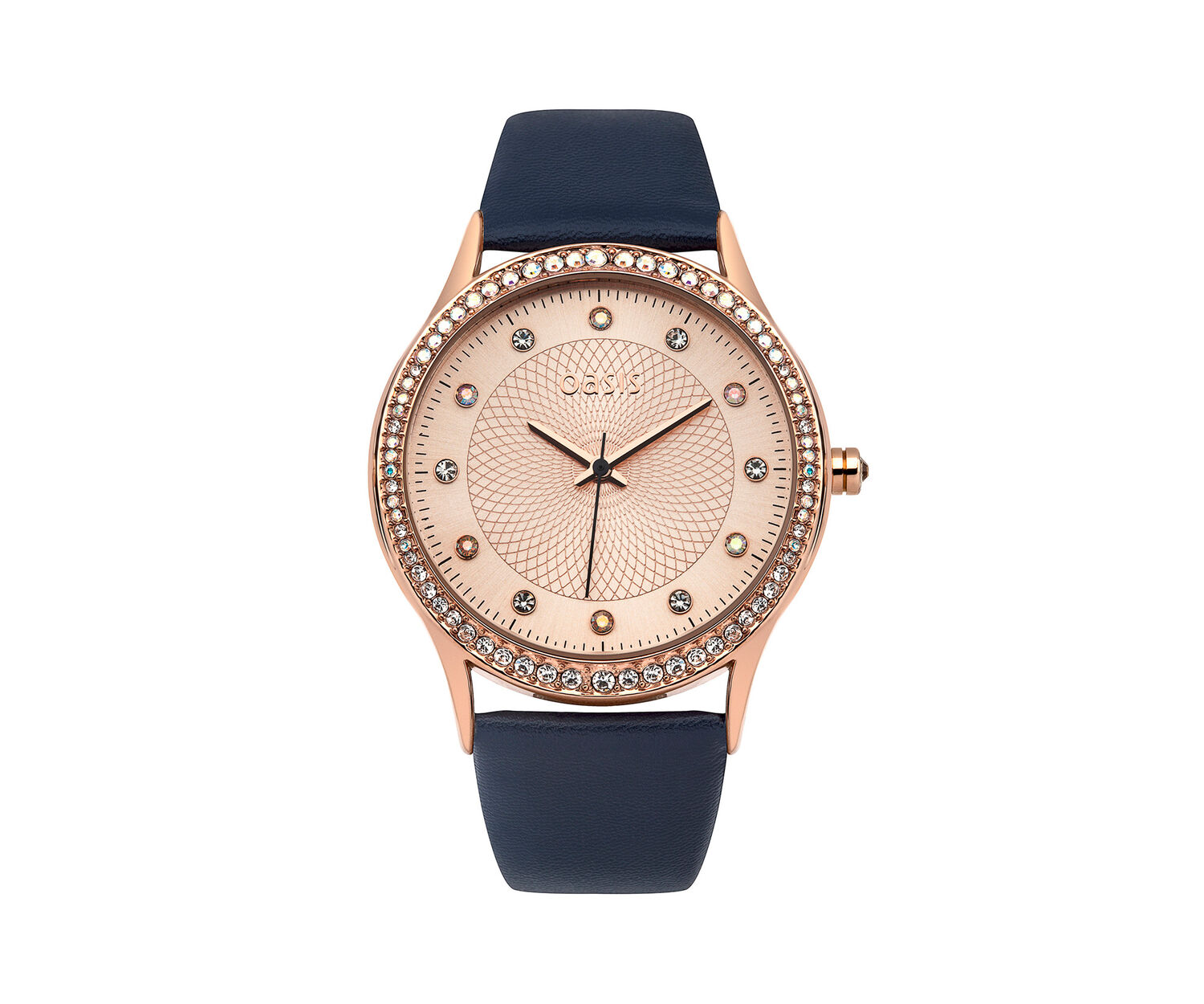 Oasis, Navy PU Strap Watch Navy 0