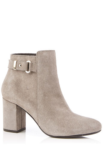 Oasis, FLO HIGH ANKLE BOOT Mid Grey 0