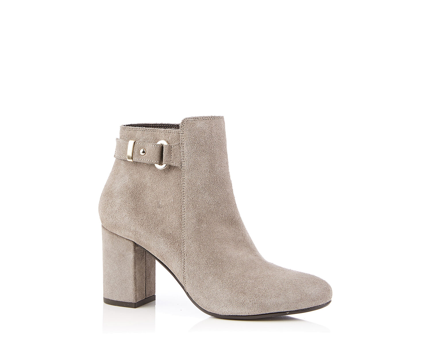 Oasis, FLO HIGH ANKLE BOOT Mid Grey 1