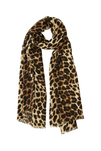 Oasis, ANIMAL SCARF Mid Neutral 0