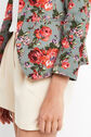 Oasis, ROSE PRINT SUIT JACKET Multi 4