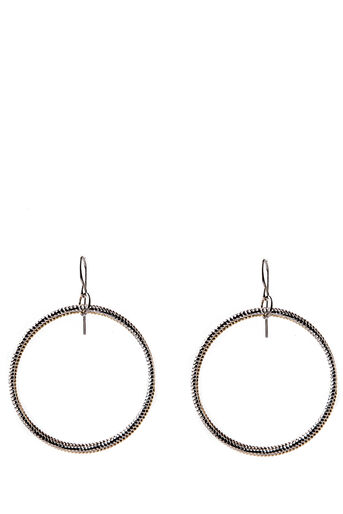 Oasis, TRIPLE LINK HOOPS Multi Gold 0