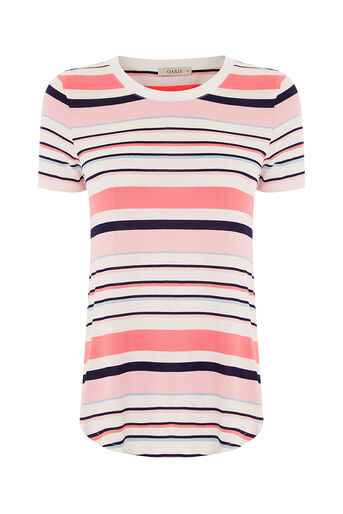 Oasis, FIZZ STRIPE PERFECT TEE Multi 0