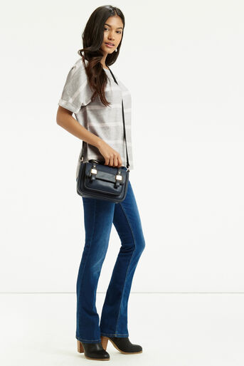 Oasis, Textured Stripe T-Shirt Multi 2
