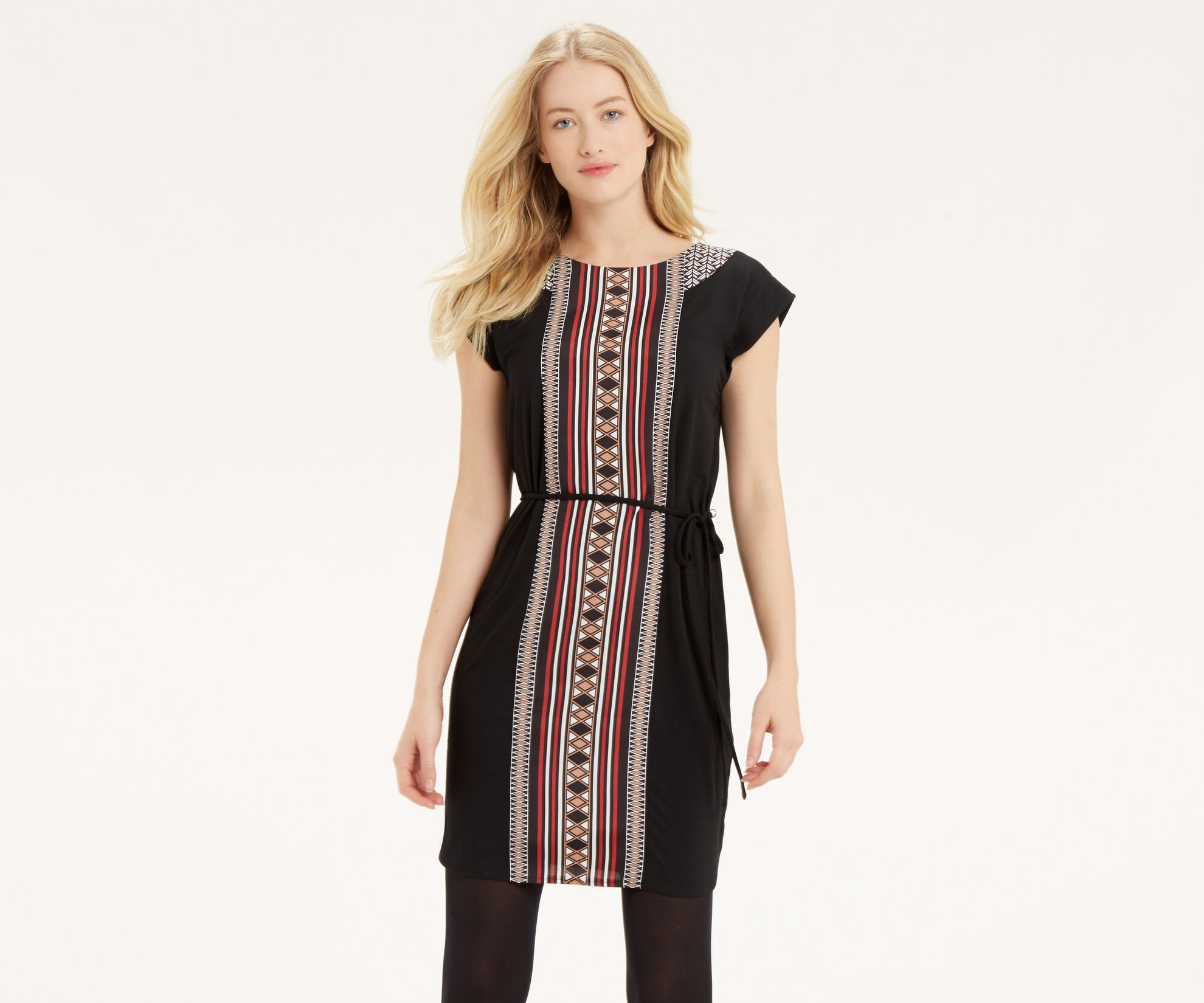 Oasis, Deco Patterned Tunic Multi 1