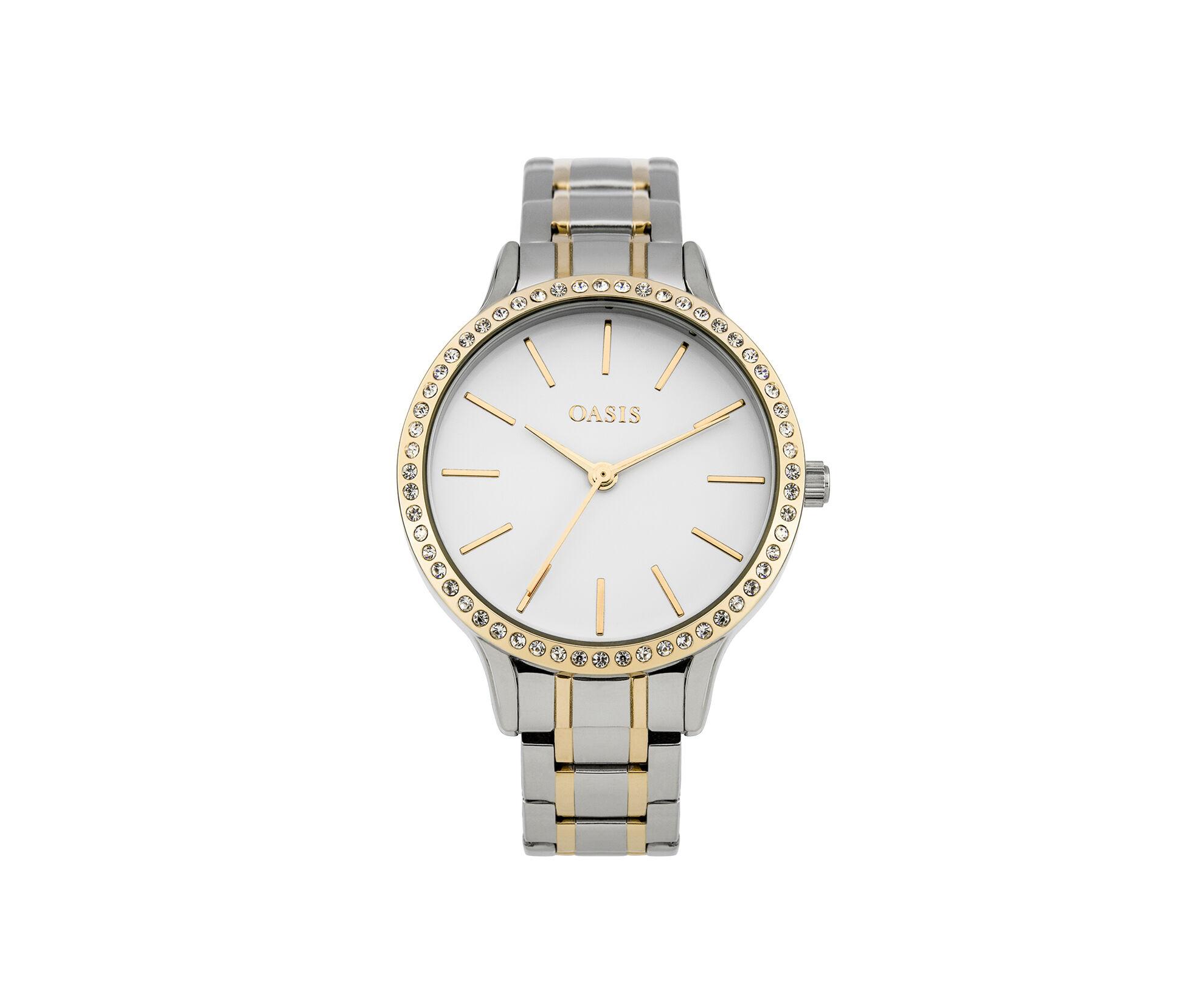 Oasis, Steel Bracelet Watch Gold 0